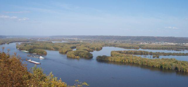 Mississippi River and wetlands