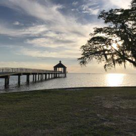 Peaceful on the Louisiana coast
