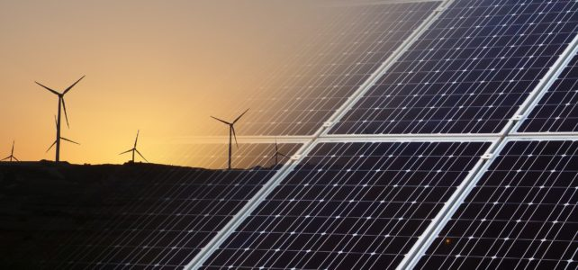 Mix of renewables