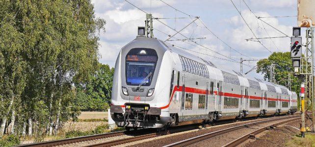 German intercity train
