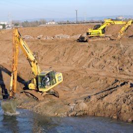 Building a levee