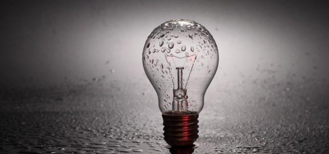 Light bulb needs energy