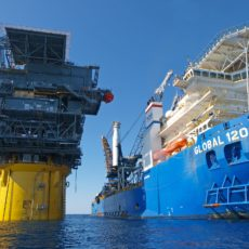 Oil exploration method under fire