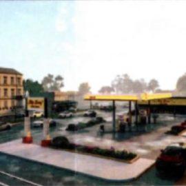 New gas station design