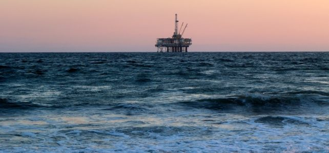 oil well off shore