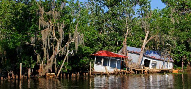 House on a bayou