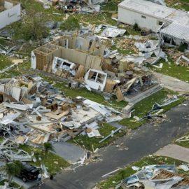 Hurricane destuction