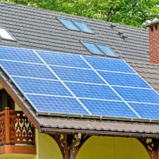 Solar panels for city-wide power